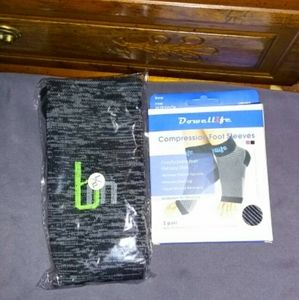 Accessories - Compression Sock & Foot Sleeve Bundle - SEE DESCRP